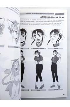 Muestra 2 de COMO DIBUJAR ANIME 5. CHICAS EN ACCIÓN (Tadashi Ozawa) Norma 2004