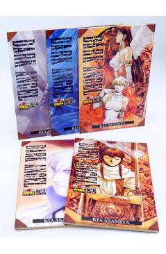 Cubierta de DARK ANGEL 3 a 7. LOTE DE 5 (Kia Asamiya) Norma 1995