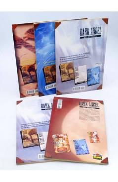 Contracubierta de DARK ANGEL 3 a 7. LOTE DE 5 (Kia Asamiya) Norma 1995