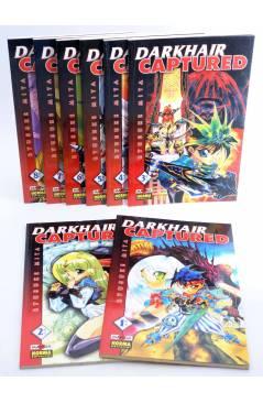 Cubierta de DARKHAIR CAPTURED 1 A 8. COMPLETA (Ryusuke Mita) Norma 1999