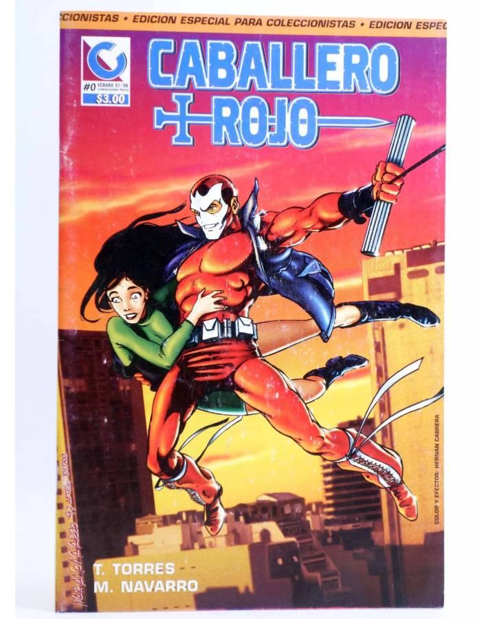 Cubierta de CABALLERO ROJO 0 (T. Torres / M. Navarro) Comiqueando Press 1997