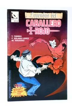 Cubierta de CABALLERO ROJO 4 (Torres / Navarro / Solano López) Comiqueando Press 1997
