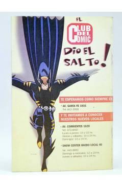 Contracubierta de CABALLERO ROJO 4 (Torres / Navarro / Solano López) Comiqueando Press 1997