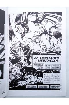 Muestra 2 de CABALLERO ROJO 0 A 6. A FALTA DEL 1 (Torres / Navarro) Comiqueando Press 1997