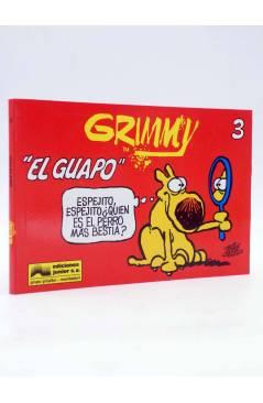 Cubierta de GRIMMY 3. EL GUAPO (Mike Peters) Junior / Grijalbo 1990. Mother Goose and Grimm