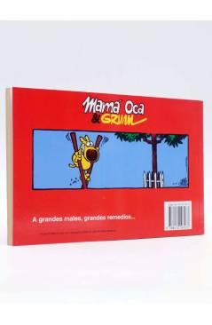 Contracubierta de GRIMMY 3. EL GUAPO (Mike Peters) Junior / Grijalbo 1990. Mother Goose and Grimm