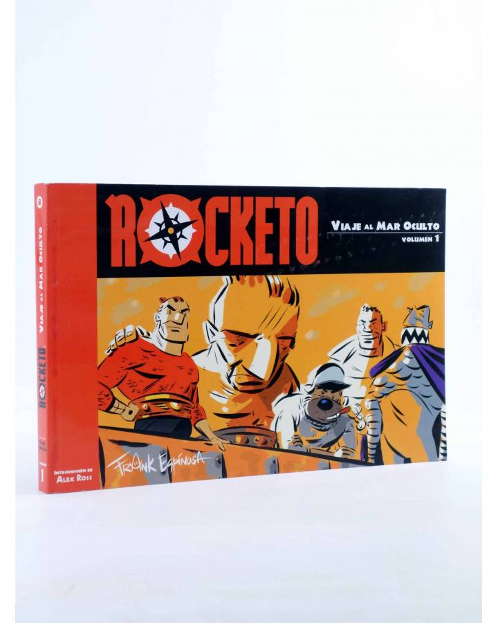 Cubierta de ROCKETO VOL. 1. VIAJE AL MAR OCULTO (Frank Espinosa) Aleta 2014