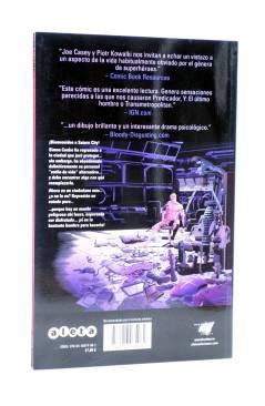 Contracubierta de SEX LIBRO 1. ESE VERANO LARGO Y DURO (Casey / Kowalski) Aleta 2014