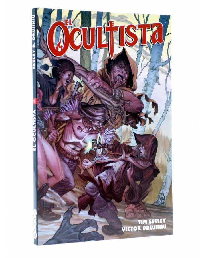 Cubierta de EL OCULTISTA VOL. 1 (Seeley / Drujiniu) Aleta 2015