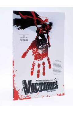 Cubierta de THE VICTORIES VOL. 1. MARCADO (Michael Avon Oeming) Aleta 2013