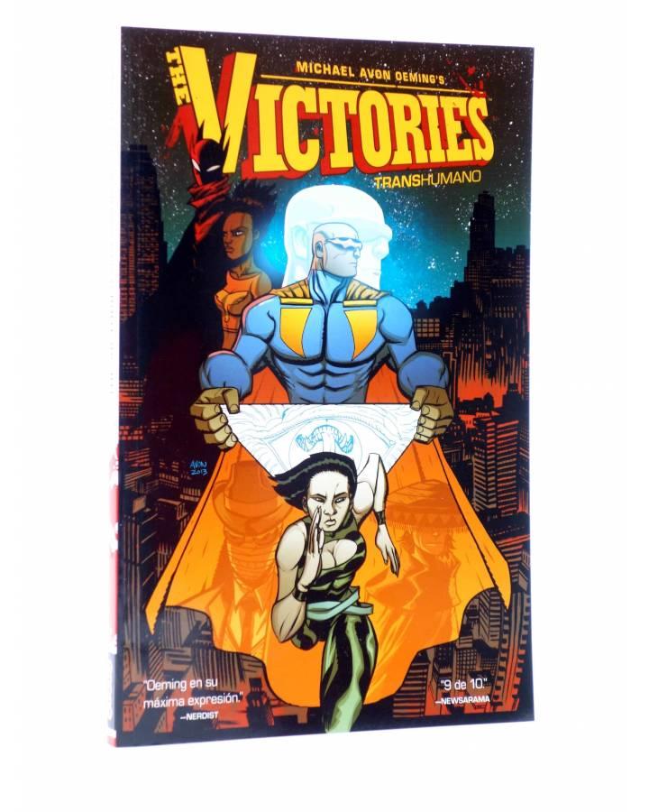 Cubierta de THE VICTORIES VOL. 2. TRANSHUMANO (Michael Avon Oeming) Aleta 2015