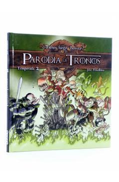 Cubierta de PARODIA DE TRONOS TEMPORADA 2 (José Fonollosa) Aleta 2016