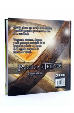 Contracubierta de PARODIA DE TRONOS TEMPORADA 2 (José Fonollosa) Aleta 2016