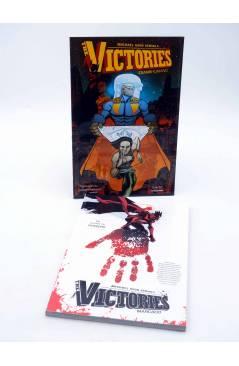 Cubierta de THE VICTORIES VOLS. 1 Y 2. MARCADO / TRANSHUMANO (Michael Avon Oeming) Aleta 2013