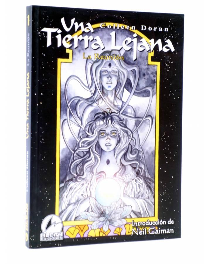 Cubierta de UNA TIERRA LEJANA. LA REUNIÓN (Colleen Doran) Aleta 2006