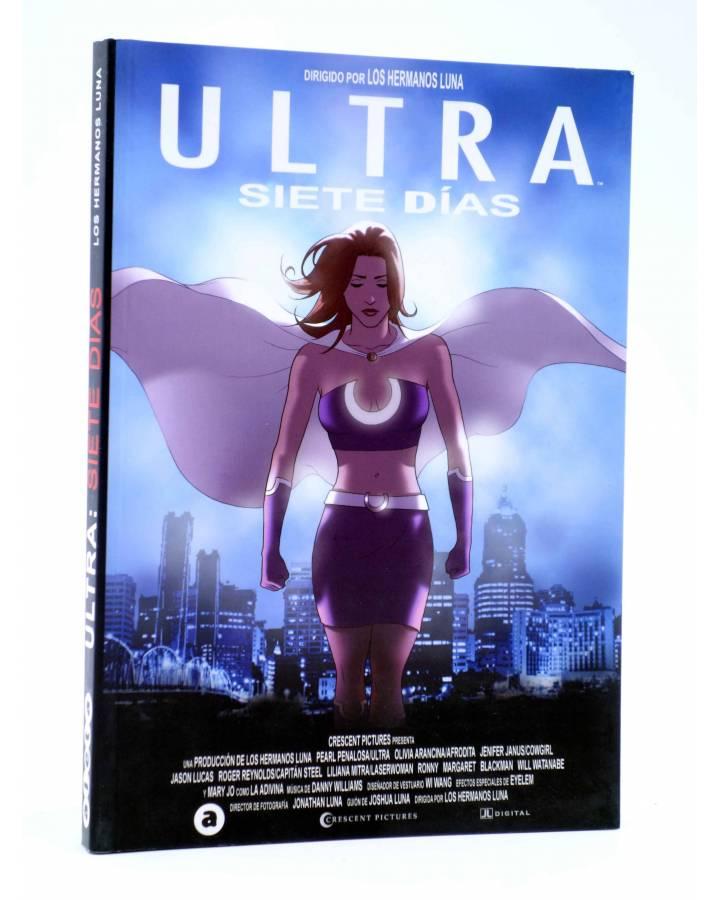 Cubierta de ULTRA. SIETE DÍAS (Los Hermanos Luna) Aleta 2007