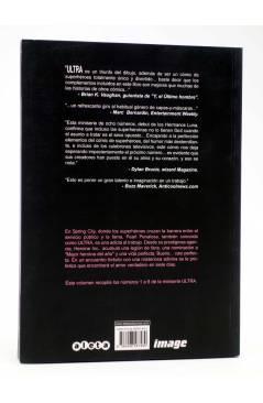Contracubierta de ULTRA. SIETE DÍAS (Los Hermanos Luna) Aleta 2007