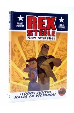 Cubierta de REX STEELE. NAZI SMASHER (Matt Peters / Bill Presing) Aleta 2014