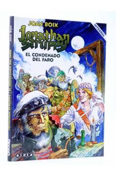 Cubierta de JONATHAN STRUPPY EL CONDENADO DEL FARO. INTEGRAL (Joan Boix) Aleta 2015