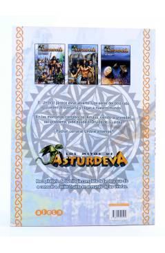 Contracubierta de LOS MITOS DE ASTURDEVA. LA TRILOGÍA COMPLETA (Javier Trujillo) Aleta 2006