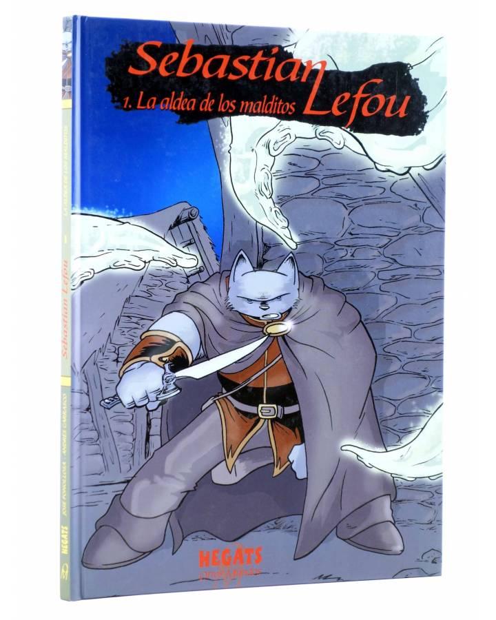 Cubierta de SEBASTIÁN LEFOU 1. LA ALDEA DE LOS MALDITOS (Fonollosa / Carrasco) Aleta 2007