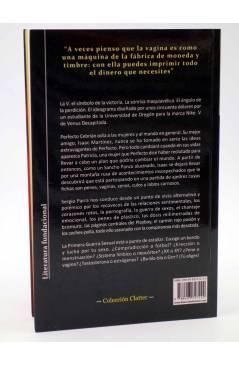 Contracubierta de VENUS DECAPITADA (Sergio Parra) Viaje a Bizancio 2010