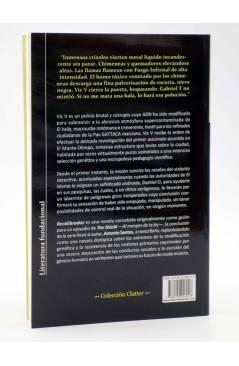 Contracubierta de RECALIBRADOS (Antonio Santos) Viaje a Bizancio 2010