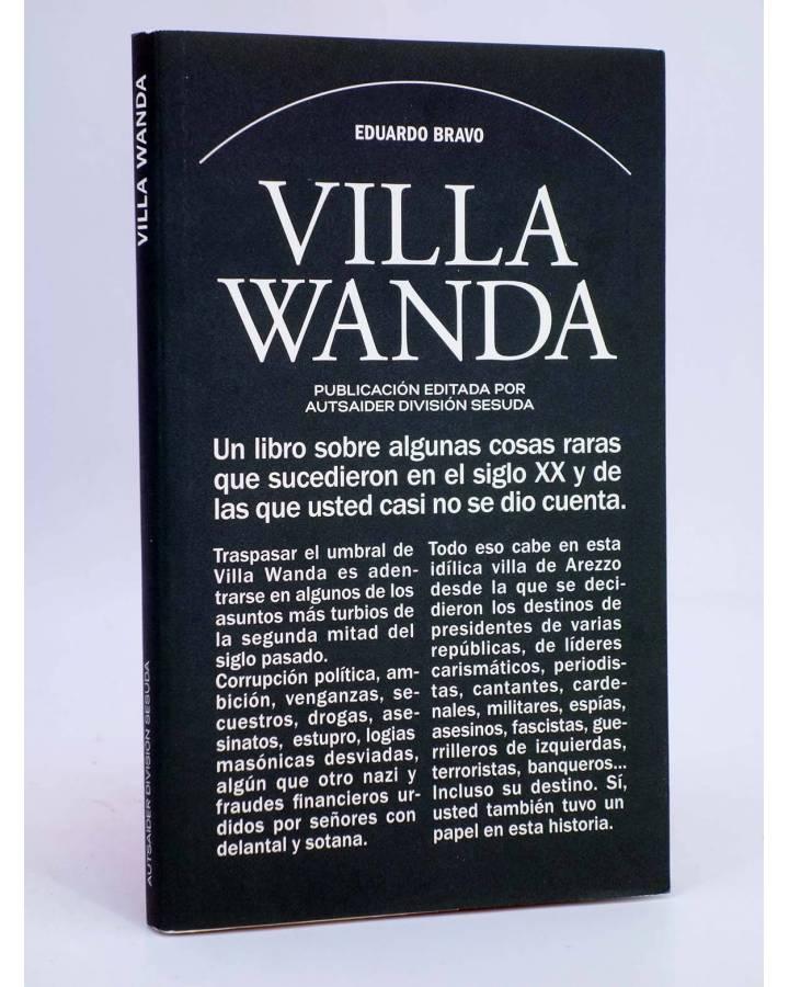 Cubierta de DIVISIÓN SESUDA 1. VILLA WANDA + REGALO POSTAL DISCO (Eduardo Bravo) Autsaider 2017