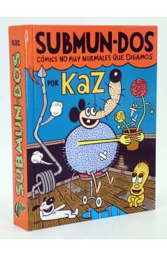 Contracubierta de SUBMUN-DOS CÓMICS NO MUY NORMALES QUE DIGAMOS + POSTER 80x60 CM (Kaz Prapoulenis) Autsaider 2014