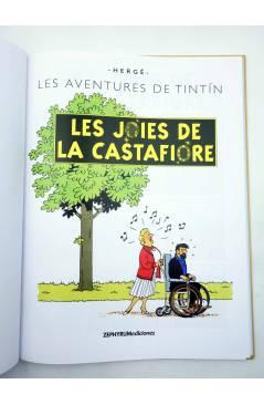 Muestra 1 de TINTIN. LES JOIES DE LA CASTAFIORE. ED EN VALENCIANO (Hergé) Zephyrum 2019