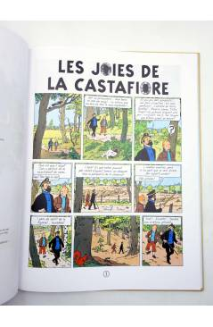 Muestra 2 de TINTIN. LES JOIES DE LA CASTAFIORE. ED EN VALENCIANO (Hergé) Zephyrum 2019
