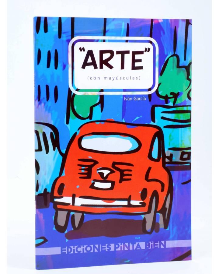 Cubierta de FANZINE ARTE (CON MAYÚSCULAS) (Iván García Aguado - Miski) Pinta Bien 2016