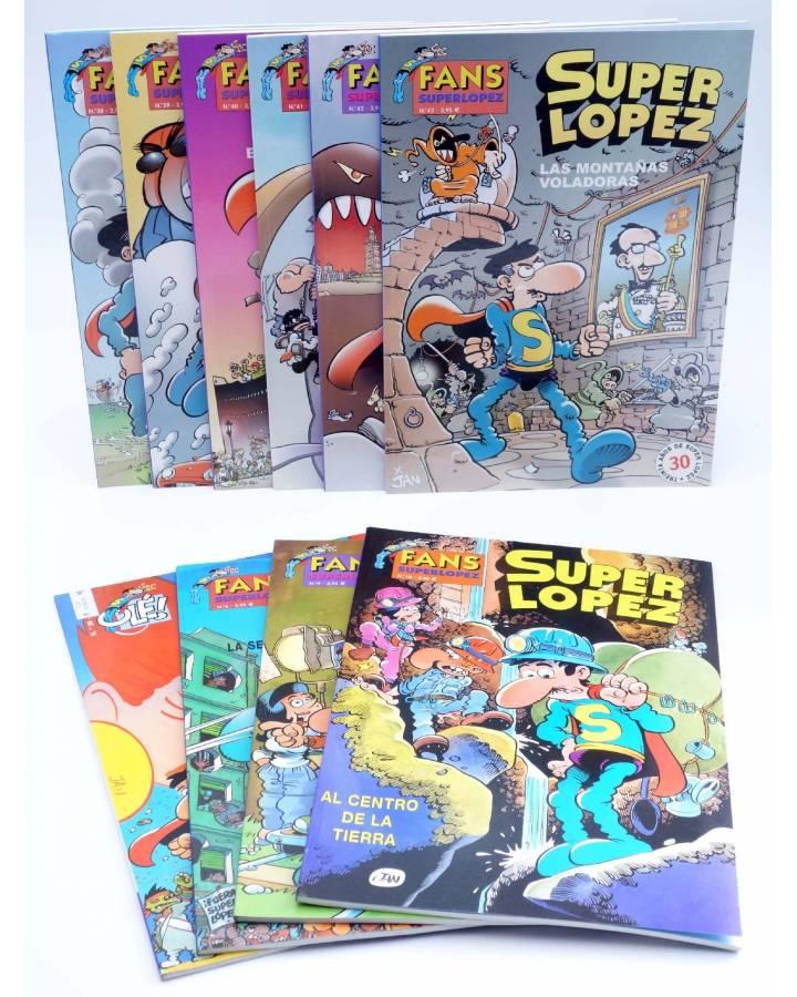 Cubierta de SUPERLÓPEZ SUPER LOPEZ FANS LOTE DE 10. TAPA BLANDA (Jan) B 2003