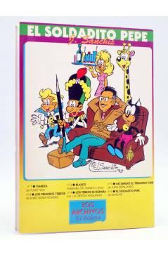 Contracubierta de LOS ARCHIVOS EL BOLETÍN 6. EL SOLDADITO PEPE (José Sanchís) El Boletín 1994
