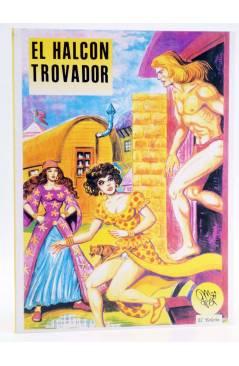 Cubierta de EL HALCÓN TROVADOR (Manuel Gago) El Boletín 1992