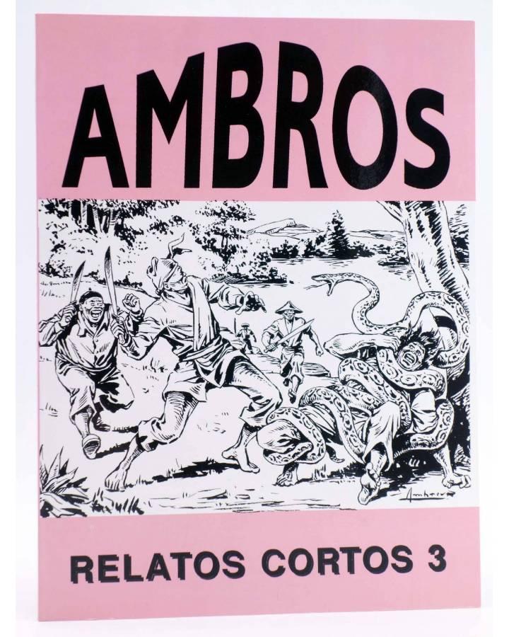 Cubierta de AMBRÓS: RELATOS CORTOS 3 (Ambrós) El Boletín 1990