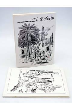 Contracubierta de MONOGRÁFICOS EL BOLETÍN. ESPECIAL AMBRÓS 1 2. COMPLETA (Ambrós) El Boletín 1991