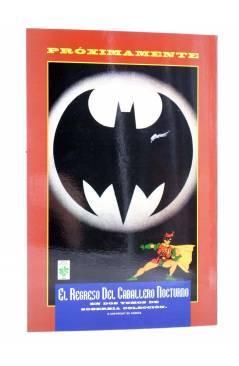 Contracubierta de DC VERSUS MARVEL COMICS 4 (David / Jurgens / Castellini / Rubinstein / Neary) Vid 1997
