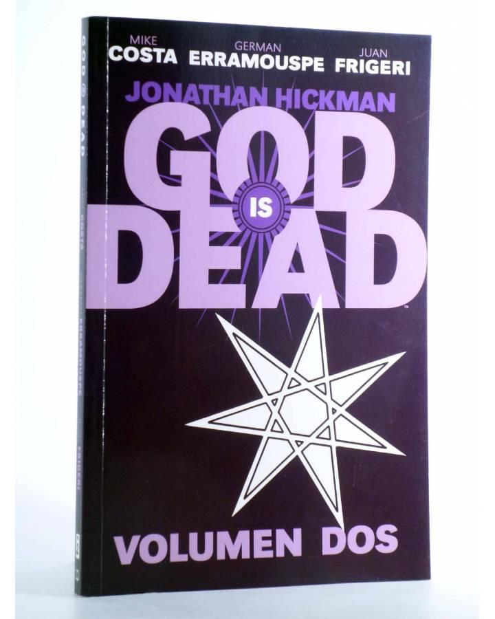 Cubierta de GOD IS DEAD VOL 2 (Mike Costa / German Erramouspe / Juan Frigeri) Medusa 2015