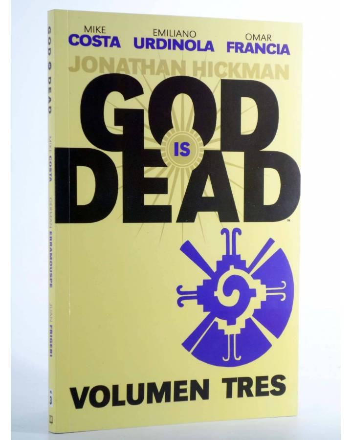 Cubierta de GOD IS DEAD VOL 3 (Mike Costa / Emiliano Urdinola / Omar Francia) Medusa 2016