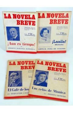 Muestra 1 de LA NOVELA BREVE 1 a 6. COMPLETA (Joaquín Romero Marchent) Ramón Fau 1949
