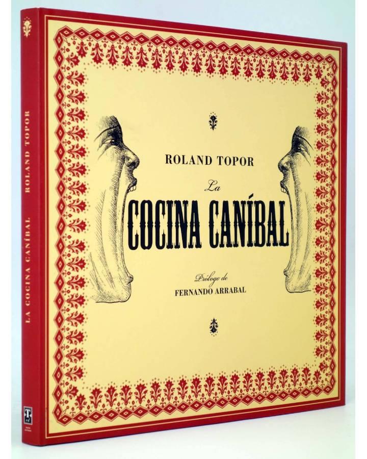 Cubierta de COLECCIÓN ILUSTRADA 2. LA COCINA CANÍBAL (Roland Topor) Tropo 2008