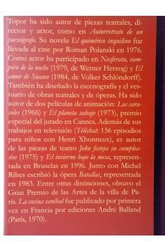 Muestra 7 de COLECCIÓN ILUSTRADA 2. LA COCINA CANÍBAL (Roland Topor) Tropo 2008