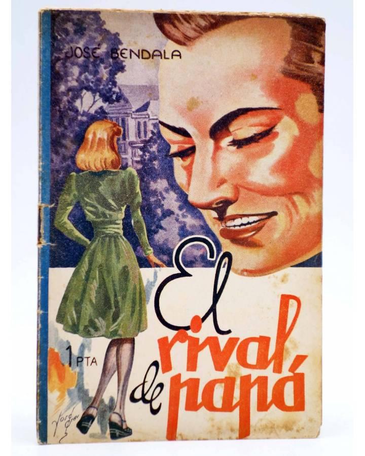 Cubierta de COLECCIÓN BANDA AZUL 5. EL RIVAL DE PAPÁ (José Bendala) Valenciana Circa 1930