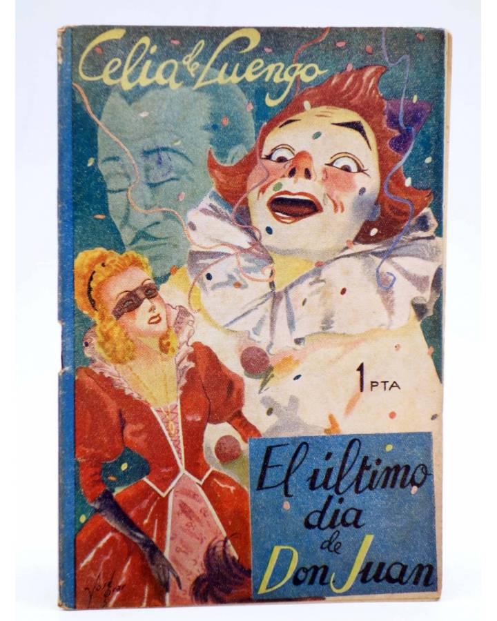 Cubierta de COLECCIÓN BANDA AZUL 7. EL ÚLTIMO DÍA DE D. JUAN (Celia De Luengo) Valenciana Circa 1930