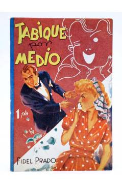 Cubierta de COLECCIÓN BANDA AZUL 8. TABIQUE POR MEDIO (Fidel Prado) Valenciana Circa 1930