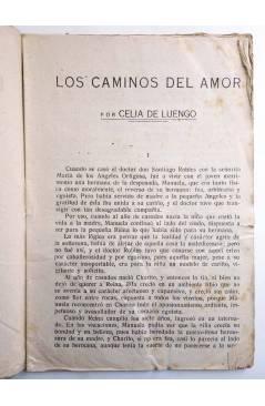Muestra 2 de COLECCIÓN BANDA AZUL 10. LOS CAMINOS DEL AMOR (Celia De Luengo) Valenciana Circa 1930