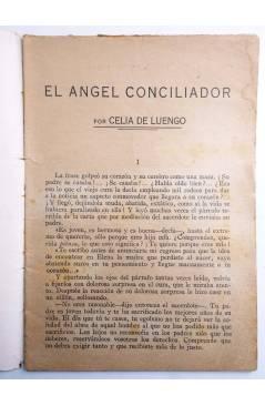 Muestra 1 de COLECCIÓN BANDA AZUL 18. EL ÁNGEL CONCILIADOR (Celia De Luengo) Valenciana Circa 1930