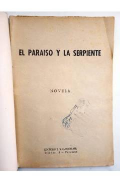 Muestra 1 de COLECCIÓN BANDA AZUL 19. EL PARAÍSO Y LA SERPIENTE (José Bendala) Valenciana Circa 1930