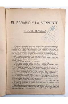 Muestra 2 de COLECCIÓN BANDA AZUL 19. EL PARAÍSO Y LA SERPIENTE (José Bendala) Valenciana Circa 1930